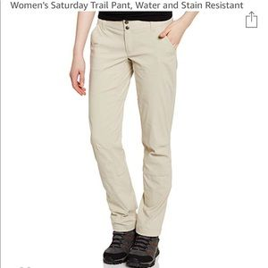Columbia Saturday Trail Pant, water resistant